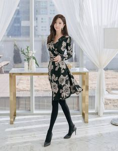 media statistics and analytics Girly Outfits, Pretty Outfits, Beautiful Outfits, Cute Asian Girls, Beautiful Asian Girls, Korea Fashion, Asian Fashion, Tight Dresses, Nice Dresses