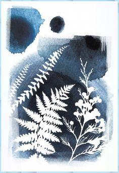 Atemberaubende Botanische Drucke, Messerklinge Wandkunst, blauer Kunstdruck, Aquarell, Natur ... #atemberaubende #blauer #botanische #drucke #kunstdruck #messerklinge #wandkunst