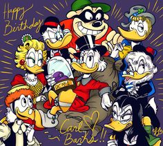 Birthday Tribute to Carl Barks, by Scroogerello.