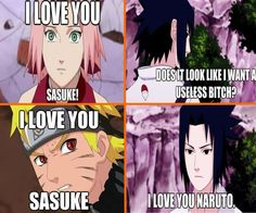 I like Sakura more than I am willing to admit, which still isn't much, but I don't like her enough to not laugh my ass off at this.