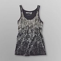 Dream Out Loud by Selena Gomez Junior's Sequined Racerback Tank Top $9.80