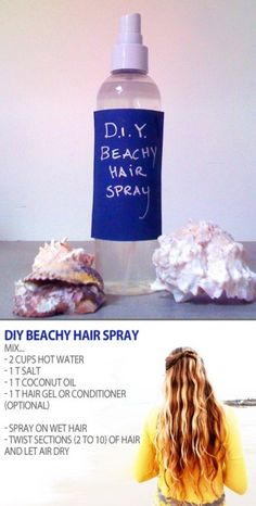 I love using just salt water spray, I'll have to try adding coconut oil, great idea :)