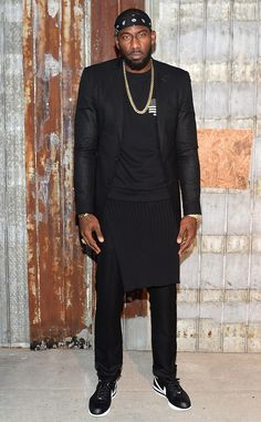 Amar e Stoudemire from Stars at New York Fashion Week Spring 2016 b0b548c9e6