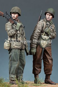 WW2 US Infantry Set in 1/35 scale. Now in stock, click on the picture for more details.