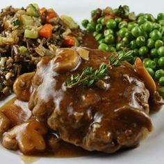 Salisbury Steak with Mushrooms Allrecipes.com