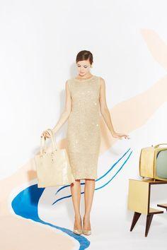 Very lady like in beige by Alice & Olivia #NYFW 2013 summer fashion