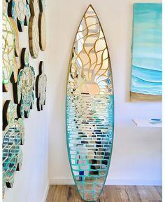 Turtle idea for mosaic shape Mirror Mosaic, Mosaic Glass, Stained Glass, Glass Art, Mosaic Art Projects, Mosaic Crafts, Surfboard Art, Skateboard Art, Mosaic Madness