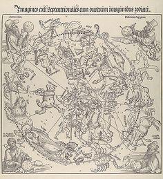 The Celestial Map- Northern Hemisphere Albrecht Dürer  (German, Nuremberg 1471–1528 Nuremberg)