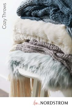 This cozy knit throw comes in a chunky stitch that will add understated texture to a bed, sofa or bench. Shop this comfy luxe gift at Nordstrom and choose from two multi-knit colors. Funky Home Decor, Home Decor Kitchen, Diy Home Decor, Room Decor, Chevron Bedding, Matching Bedding And Curtains, Bedding Sets, African Men Fashion, Beach Signs
