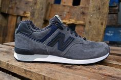 "New Balance 576 ""30 Years of Manifacture in The UK"" Grey/Navy"