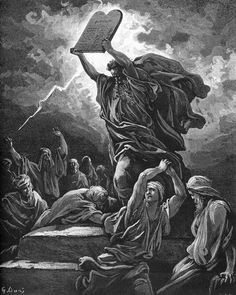 """Exodus 20:1-3, 7-8, 12-17 In those days, God delivered all these commandments: """"I, the Lord am your God, who brought you out of the land of Egypt, that place of slavery. You shall not have other go..."""