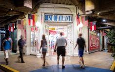 Underground Atlanta shops