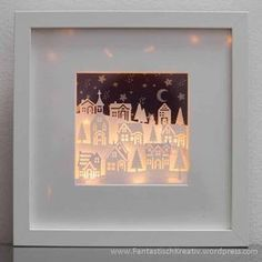 Stampin Up Frame Christmas at Christmas Shadow Boxes, 3d Christmas, Christmas Frames, Christmas Cards, Christmas Decorations, Stampin Up Christmas 2018, Xmas Crafts, Diy Crafts, Stampin Up Weihnachten