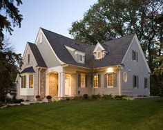 Want to trim windows in white as shown.  Exterior Exterior Design, Pictures, Remodel, Decor and Ideas - page 8