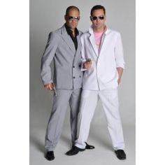 Déguisement Miami Vice blanc homme luxe