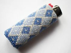 Vintage Beaded Bic Lighter Covers by CassieVision on Etsy, $20.00