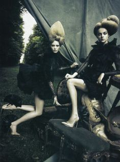 A Dream of A Dress | Paolo Roversi for Vogue Italia September by adrienne
