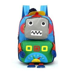 Colorful Robot Backpacks Plush