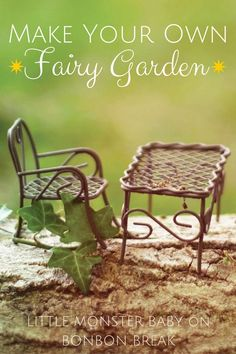 Make a Fairy Garden by Little Monster - Adolpha is obsessed with these things.