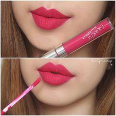 New Makeup Lips Matte Pink Shades 58 Ideas Drugstore Lipstick, Lipstick Swatches, Makeup Swatches, Lipstick Colors, Makeup Lipstick, Pink Lipstick Shades, Lip Colours, Pink Lipsticks, Colourpop Cosmetics