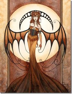 Amy Brown Empress of the Sun Card