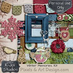 Winter Memories Kit http://www.pixelsandartdesign.com/store/index.php?main_page=product_info&products_id=244  Please LIKE and SHARE #kjoistudios #digiscrap #pixelsandartdesign
