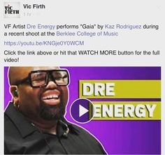 The NEW DRE ENERGY @VICFIRTH artists spotlight video is up ...check the link below  http://ift.tt/22wc9Md by dreenergy