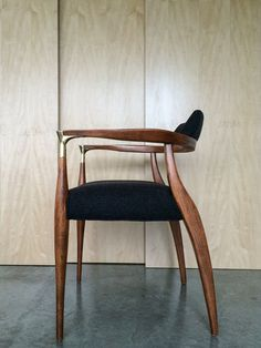 Mid Century Chair by ObjectandLight on Etsy
