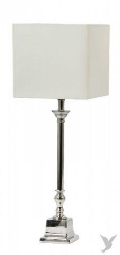 Flott lampefot med skikkelig høyde, og firkantet fot.Høyde 70cm