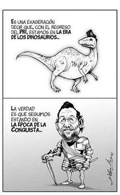No es la era de los #dinosarios, es la era de los saqueos y violaciones. patrocinado por @EPN