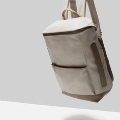 MIXED COLOR SQUARE BACKPACK - View all - Bags - MAN | ZARA Italy