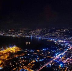 Beirut, the city that never sleeps.