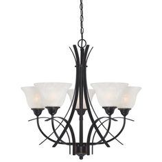 Found it at Wayfair - Pacific Falls 5 Light Chandelier