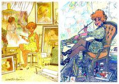9ème Art: jeannet Pointu par Marc Wasterlain