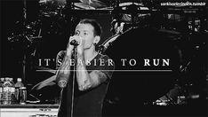 Linkin Park Easier to Run gif.