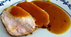 Lomo al tomillo en salsa