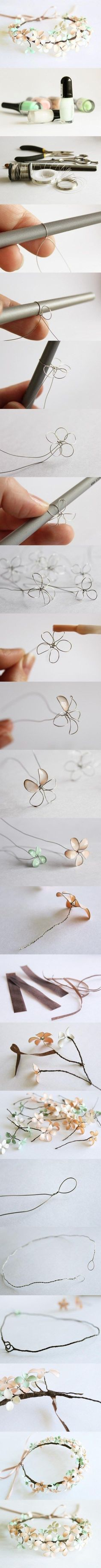 Wire Flower Headband Pictures, Photos, and Images for Facebook, Tumblr, Pinterest, and Twitter