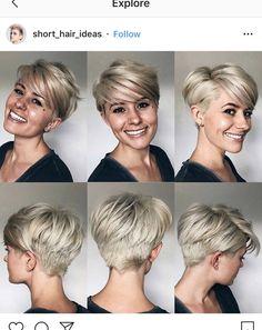 Short Thin Hair, Very Short Hair, Short Hair Cuts, Short Hair Styles, Cute Short Haircuts, Short Bob Hairstyles, Girl Hairstyles, Hair Today Gone Tomorrow, Short Hair Trends