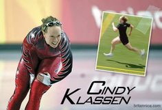 Cindy Klassen is a world-class speed skater, but when she was a kid her passion was hockey. She was on Team Manitoba at the '95 Canada Winter Games & the Junior National Team in '96 (she also competed in the '94 Commonwealth Games in field lacrosse). To supplement her hockey training she began speed skating. Apparently she found her niche. She has won the most Olympic medals in a single Games (5 in 2006) and is the Canadian with the most Olympic medals (6). She's also a four-time World… Hockey Training, Olympic Medals, Commonwealth Games, Winter Games, True North, Field Hockey, Lacrosse, Skating, Hockey