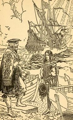 The Ballad of Sir Patrick Spens illustrated by George Wharton Edwards