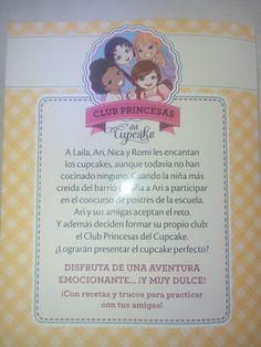 Aprendiendo con peques: Sigue tus sueños Club Princesas del Cupcake