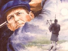 Payne Stewart a golf legend art - PGA - Oil Painting Famous Golfers, Golf Headcovers, Golf Cart Parts, Masters Golf, Golf Simulators, Golf Art, Golf Tour, Golf Lessons, World Of Sports