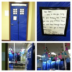 Best Dr. Who Birthday Classroom Decoration EVER