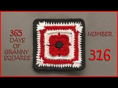 365 Days of Granny Squares Number 316 - YouTube
