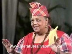 The Hon. Louise Bennett Coverley, Jamaica's beloved folklorist on folk songs. #Jamaica #history