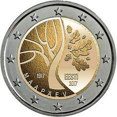 cc Estonia – Camino a la Independencia Euro Währung, Piece Euro, Timbre Collection, Numismatic Coins, Euro Coins, Coin Design, Coin Art, World Coins, European History