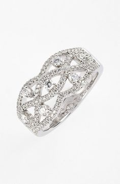 Nordstrom Bony Levy Diamond Woven Ring (Limited Edition Exclusive) on shopstyle.com