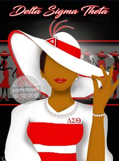 Browse all products in the Delta Sigma Theta category from Cicely's Jazzy Art. What Is A Delta, Delta Sigma Theta Gifts, Delta Girl, Sorority And Fraternity, Greek Life, Life Images, Black Girl Magic, Lady In Red, Clutch Bags