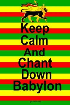 Chant Down Babylon. Rastafari Quotes, Rastafari Art, Weed Quotes, Life Quotes, Rastafarian Culture, Rastafarian Symbols, Reggae Art, Reggae Music, Smoking Weed
