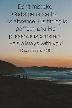 Always with you Bible Quotes